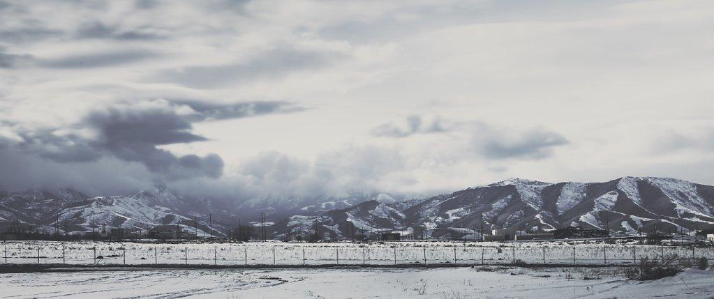 Winter in Salt lake City